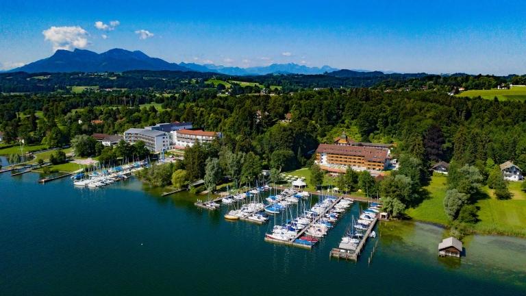 Resort im Überblick - Yachthotel Chiemsee